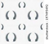 laurel wreath sign icon....   Shutterstock . vector #197495492