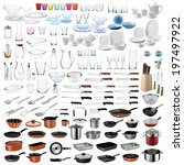 Kitchenware Set With Cooking...