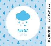 rain day vector cartoon style...   Shutterstock .eps vector #1975034132
