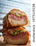 Italian Sub Sandwich With...