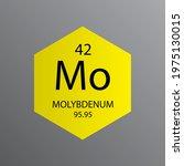 mo molybdenum transition metal... | Shutterstock .eps vector #1975130015