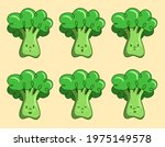 broccoli emotions collection ...   Shutterstock .eps vector #1975149578