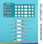 group c scoreboard of european... | Shutterstock .eps vector #1975187732