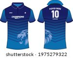 sports polo collar t shirt...   Shutterstock .eps vector #1975279322