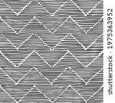 black and white seamless...   Shutterstock .eps vector #1975363952
