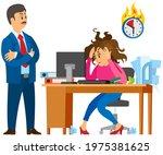 missing deadline  bad time... | Shutterstock .eps vector #1975381625