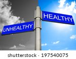 Decision Between Healthy And...