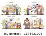 professional detective concept... | Shutterstock .eps vector #1975431008