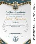ornamental textured certificate ...   Shutterstock .eps vector #1975434578
