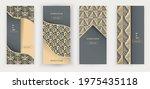 triangle gold balck luxury...   Shutterstock .eps vector #1975435118