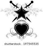 set of ornamental elements | Shutterstock .eps vector #197545535