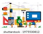 the website is under... | Shutterstock .eps vector #1975530812