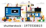 the website is under... | Shutterstock .eps vector #1975530815