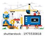 the website is under... | Shutterstock .eps vector #1975530818