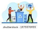 male and female characters... | Shutterstock .eps vector #1975570955