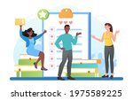 male and female characters... | Shutterstock .eps vector #1975589225