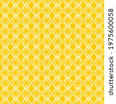 seamless pattern of wavy lines. ... | Shutterstock .eps vector #1975600058