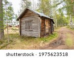 Old Wooden Shack N The...
