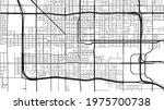 black and white phoenix city... | Shutterstock .eps vector #1975700738