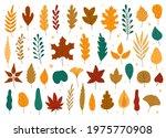 autumn leaves. oak  maple  elm...   Shutterstock .eps vector #1975770908