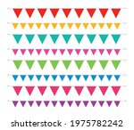 single color straight triangle... | Shutterstock .eps vector #1975782242