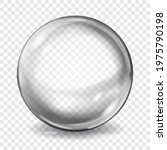 big translucent gray sphere... | Shutterstock .eps vector #1975790198