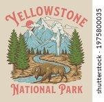Vintage Yellowstone National...