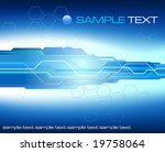 abstract futuristic background  ... | Shutterstock .eps vector #19758064