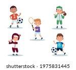 little boys children activities ...   Shutterstock .eps vector #1975831445