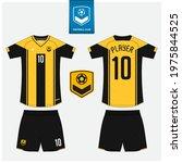 soccer jersey or football kit... | Shutterstock .eps vector #1975844525