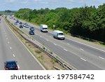 m23 motorway near gatwick... | Shutterstock . vector #197584742