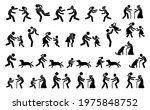 people running toward each... | Shutterstock .eps vector #1975848752