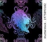 spiritual seamless pattern with ...   Shutterstock .eps vector #1975893182