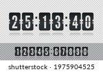 scoreboard number floating font ...