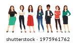 group of different elegant...   Shutterstock .eps vector #1975961762