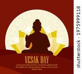 vector illustration of vesak...   Shutterstock .eps vector #1975999118