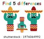 find differences game with... | Shutterstock .eps vector #1976064992
