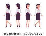 smart young businesswoman ... | Shutterstock .eps vector #1976071508