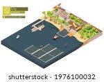vector isometric floating solar ...   Shutterstock .eps vector #1976100032