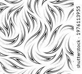 vector black and white seamless ... | Shutterstock .eps vector #1976113955