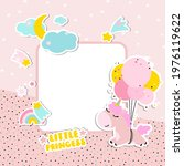 page template for a photo album.... | Shutterstock .eps vector #1976119622