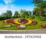 Famous Flower Clock In Geneva...