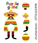 puzzle game for kids   find the ... | Shutterstock .eps vector #1976163398