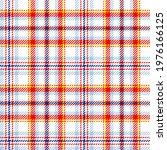 colourful tartan plaid on white ...   Shutterstock .eps vector #1976166125