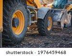 Big Rubber Wheels Of Farm...