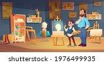 art class scene with child... | Shutterstock .eps vector #1976499935