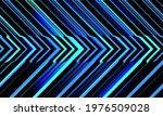 abstract blue light neon...   Shutterstock .eps vector #1976509028