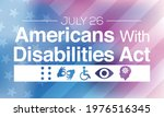 the americans with disability... | Shutterstock .eps vector #1976516345