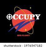 slogan print design with space...   Shutterstock .eps vector #1976547182