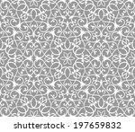 arabesque decor. seamless... | Shutterstock .eps vector #197659832